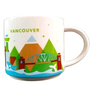 Starbucks You Are Here YAH Vancouver Coffee Mug